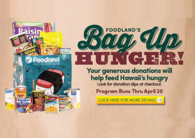 Foodland's Bag Up Hunger
