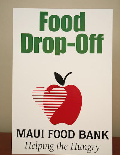 "Food Drop Off Poster (13""x 19"")"