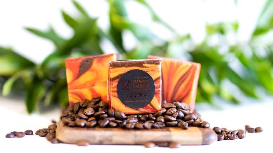 Hawaii Fudge Company's Lava Flow Fudge